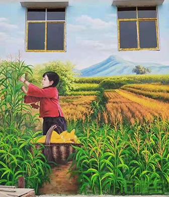 新农村文化墙