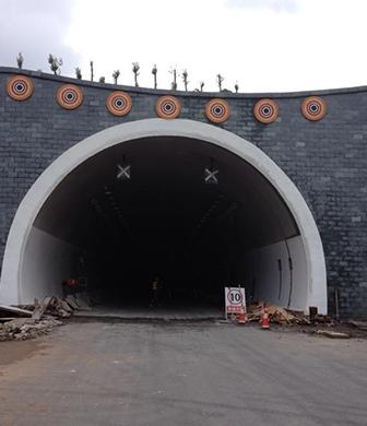 云南大丽高速黄山隧道