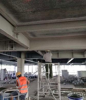 海南钢结构防火涂料项目验收
