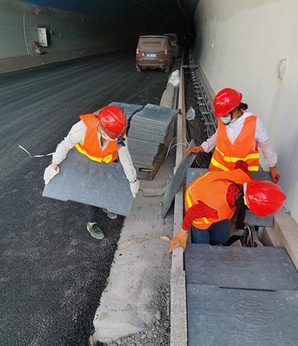 墨临高速RPC隧道电缆沟盖板