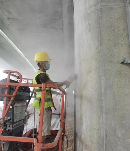 南昌快速高架桥氟碳漆涂装施工