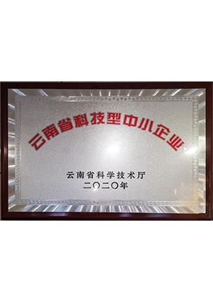 云南省科技型中小型企业