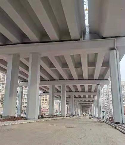 赣州快速路高架涂装